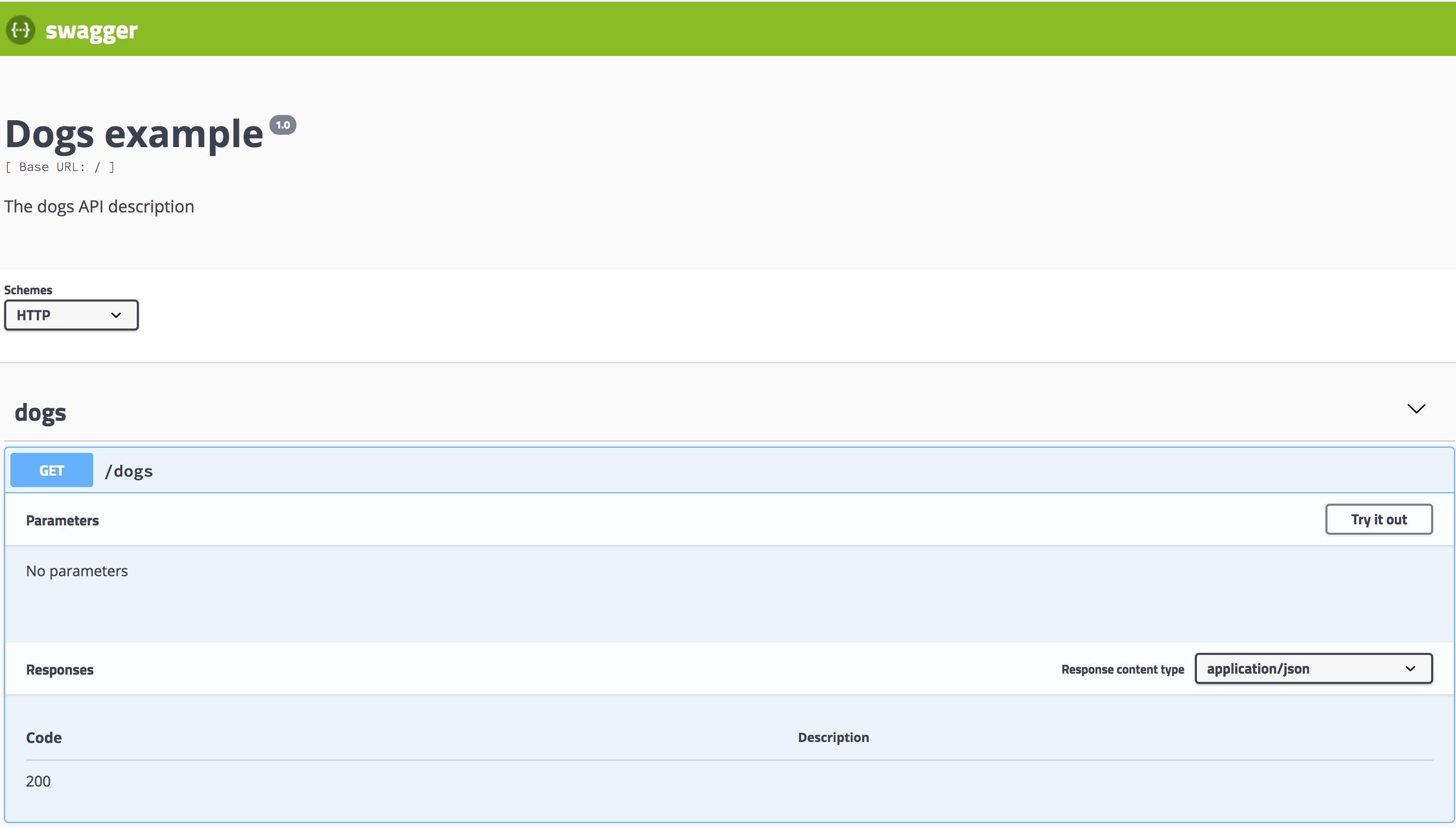 OpenAPI (Swagger) | NestJS - A progressive Node js web framework